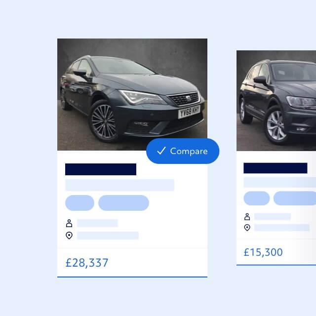Vehicle listing
